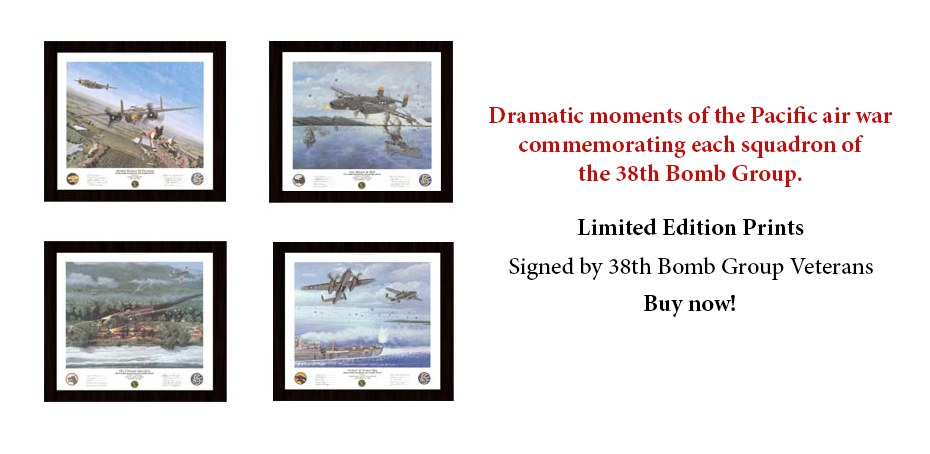 Buy signed 38th Bomb Group prints today