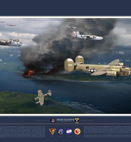 Mission to Balikpapan--Full print